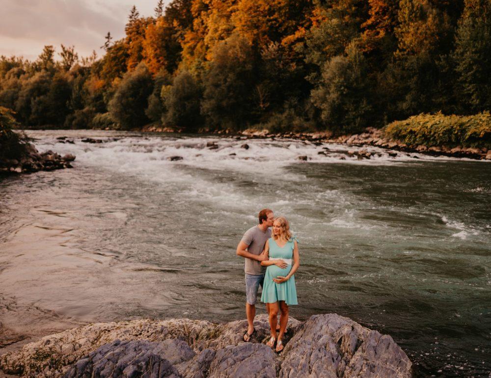 Barbara in Luka, jesensko fotografiranje
